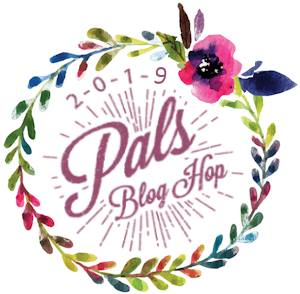 Pals Blog Hop badge for march 2019