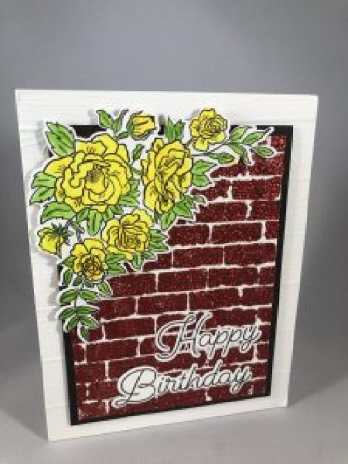 Stampin Up Climbing Roses bundle Birthday card idea - For more inspiration visit www.juststampin.com Jeanie Stark StampinUp
