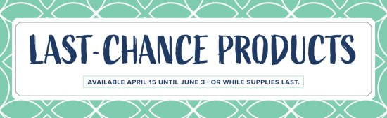 Last Chance Products header