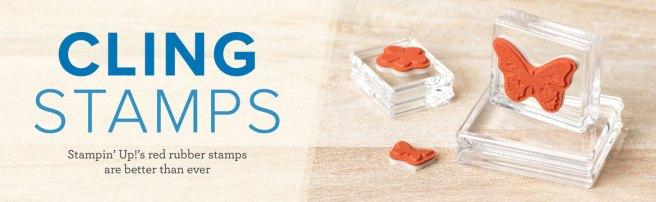 cling stamps header