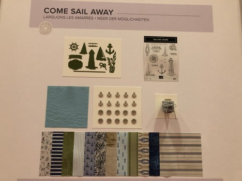 Stampin Up Come Sail Away Suite- For inspiration and ordering visit juststampin.com - Jeanie Stark StampinUp