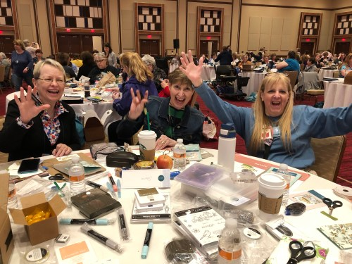 Stampin Up OnStage Convention in Atlantic City, April 2019 - Jeanie Stark StampinUp