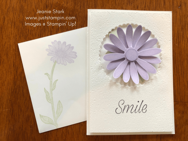 Stampin\' Up! Daisy Lane In Color all occasion note card idea - Jeanie Stark StampinUp