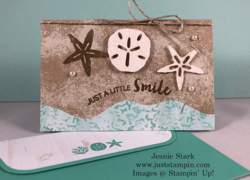 Stampin Up Paper Pumpkin A Little Smile card idea - Jeanie Stark StampinUp