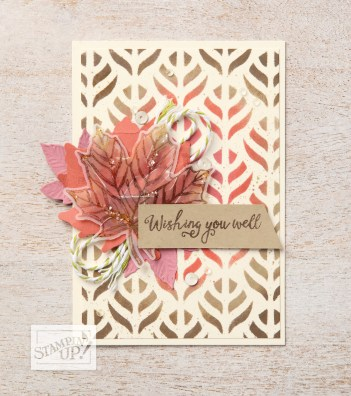 Stampin' Up Come To Gather Bundle Get well Card idea - For inspiration and ordering information visit juststampin.com - Jeanie Stark StampinUp