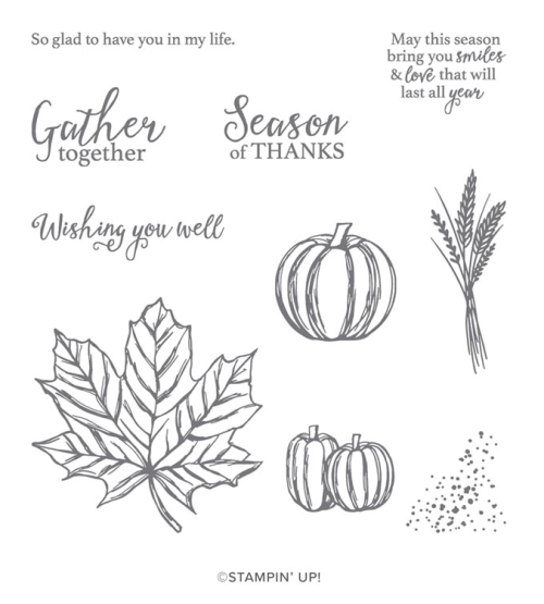 Stampin' Up! Gather Together Stamp Set - For inspiration and ordering information visit juststampin.com - Jeanie Stark StampinUp