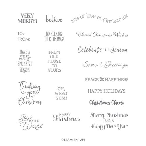 Stampin' Up! Itty Bitty Christmas Stamp Set - for ideas, inspiration, and ordering information visit juststampin.com - Jeanie Stark StampinUp