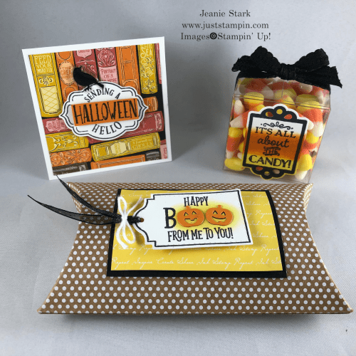 Halloween treat ideas using the Tags Tags Tags Bundle by Stampin' Up! - Jeanie Stark StampinUp