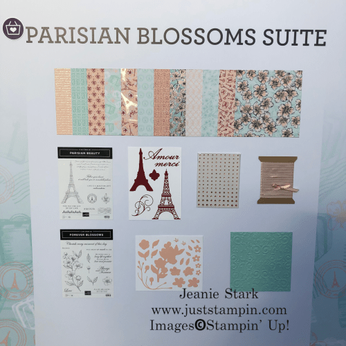 Stampin' Up! Parisian Blossoms Suite - Jeanie Stark StampinUp