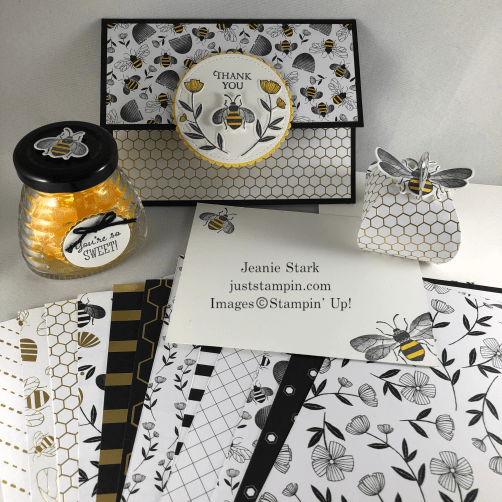 Stampin' Up! Honey Bee Suite mystery blog candy - Jeanie Stark StampinUp