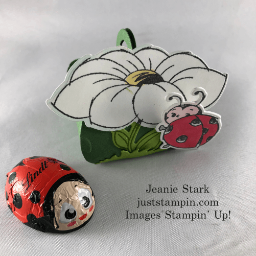Stampin' Up! Mini Curvy Keepsake Little Ladybug Box idea - Jeanie Stark StampinUp