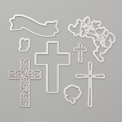 Stampin Up Cross of Hope Dies - for inspiration and ordering information visit juststampin.com - Jeanie Stark StampinUp