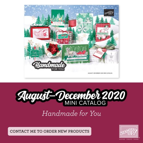 Stampin' Up! Holiday Mini Catalog is filled with fun & festive products for fall festivities and holiday celebrations! For inspiration and ordering information visit juststampin.com - Jeanie Stark StampinUp