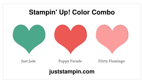 Stampin' Up! Color Combo - for inspiration and more visit juststampin.com - Jeanie Stark StampinUp