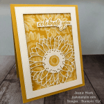 Stampin\' Up! Celebrate Sunflowers birthday card idea - Jeanie Stark StampinUp