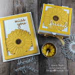 Stampin\' Up! Celebrate Sunflowers and Well Written gift set idea for a friend - Jeanie Stark StampinUp