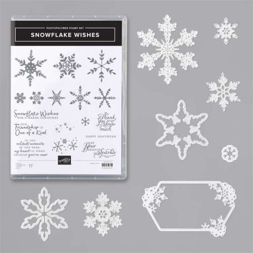 Stampin' Up! Snowflake Wishes Bundle - for inspiration, exclusive tutorials, and more, visit juststampin.com - Jeanie Stark StampinUp