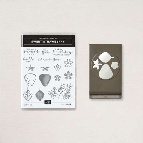 Stampin' Up! Sweet Strawberry Bundle - For projects and more inspiration visit juststampin.com - Jeanie Stark StampinUp