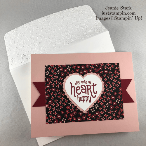 Stampin' Up! Punch Party all occasion card idea - Jeanie Stark StampinUp