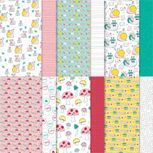 Stampin' Up! Snail Mail Designer Series Paper - vist juststampin.comf or inspiration and more - Jeanie Stark StampinUp