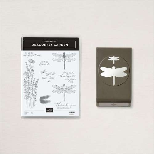 Stampin' Up! Dragonfly Garden Bundle- for inspiration, ordering information, tutorials and more, visit juststampin.com - Jeanie Stark StampinUp