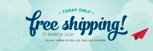 Stampin' Up! FREE SHIPPING - TODAY ONLY! Order online at juststampin.com - Jeanie Stark StampinUp