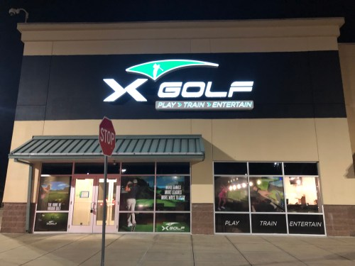 Visit X Golf in Lincoln, RI for a fun virtual golf experience!