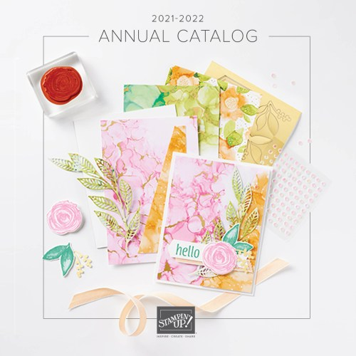 Stampin' Up! 2021 Annual Catalog- for inspiration and ordering information visit juststampin.com - Jeanie Stark StampinUp