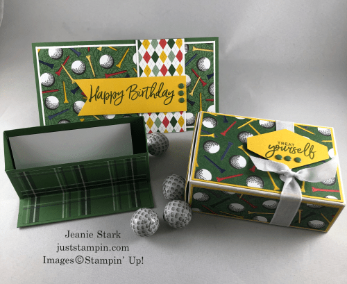 Stampin' Up! Sweet Ice Cream Country ClubGolf birthday card and gift ideas - Jeanie Stark StampinUp