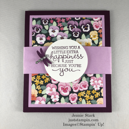Stampin' Up! Pansy Petals Seed Packet gift idea for Mother's Day or any occasion - Jeanie Stark StampinUp