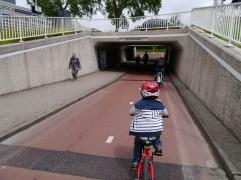 Underpass going under Plesmanlaan