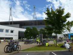 At The National Cycling Centre