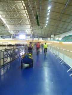 In the velodrome