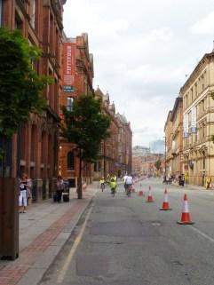 Dodging the potholes on Princess Street again