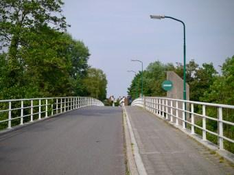 Approaching Amsterdam–Rhine Canal