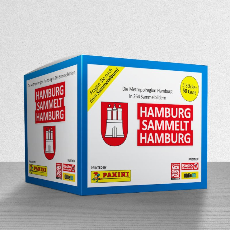 Hamburg Panini Sticker