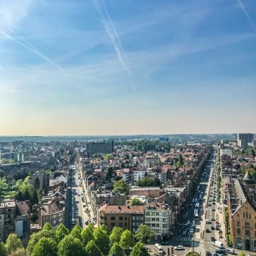 Brussels View from Basilica