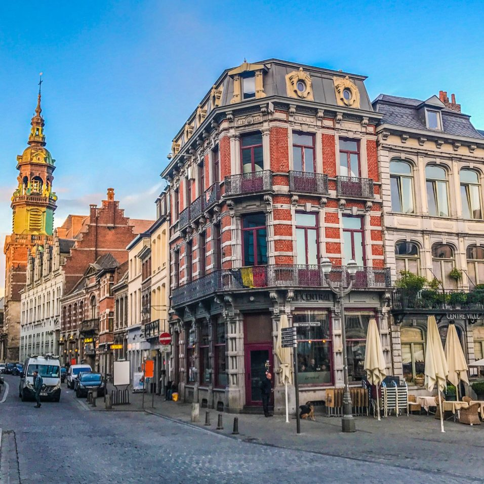Terrace - Mons - Belgium