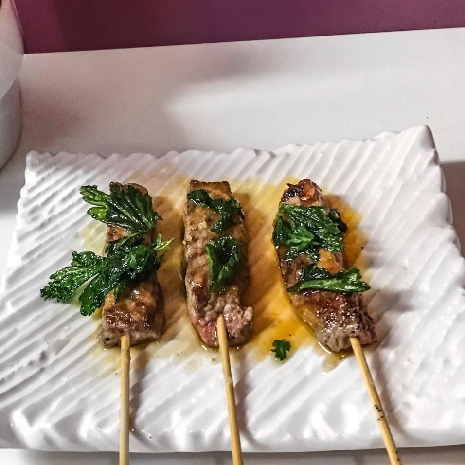 Bar Gonzo - Wagyu Beef Skewers