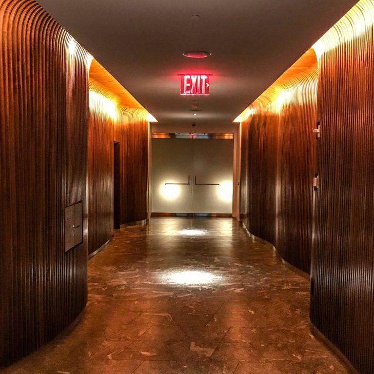 Conrad NYC - Elevator Bank