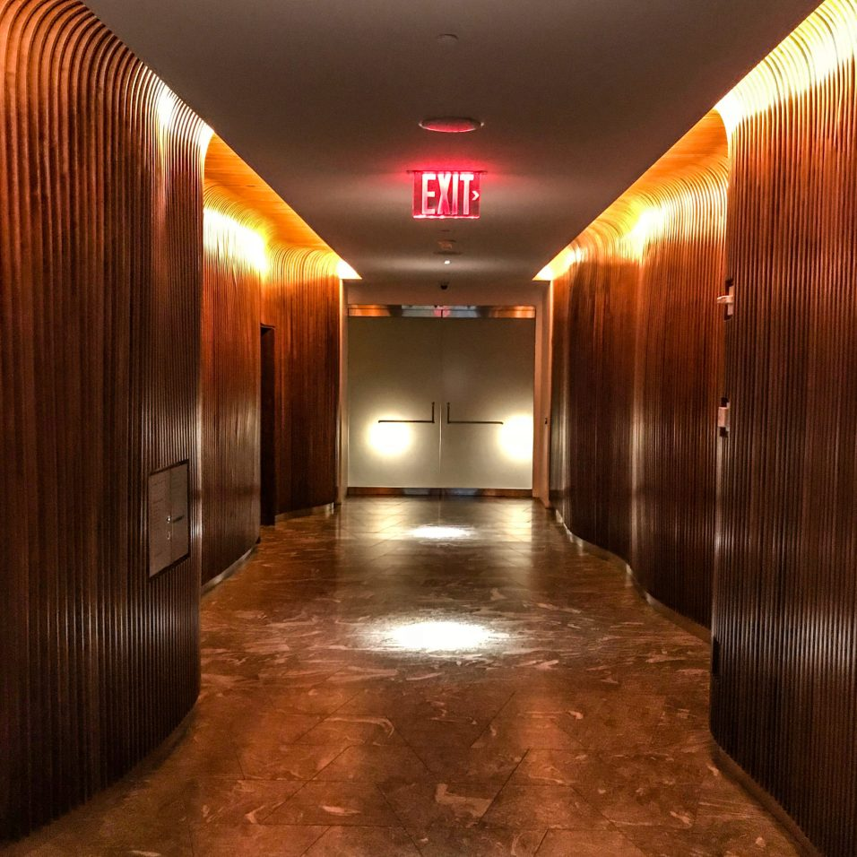 Conrad NYC - Elevator Bank