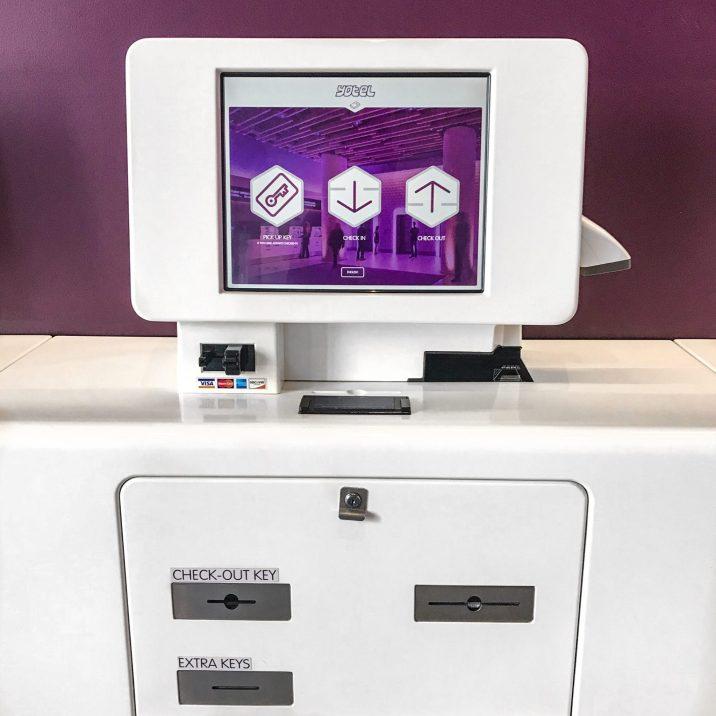 YOTEL NYC - SELF CHECK IN STATION