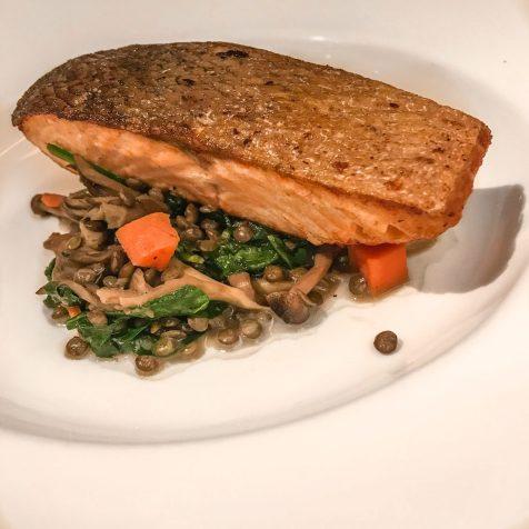 Atrio Restaurant - Conrad NYC - Salmon