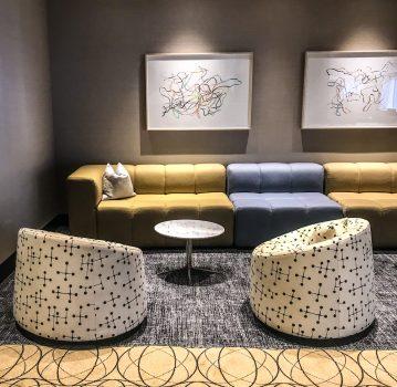 Fairmont The Queen Elizabeth - Lounge Space