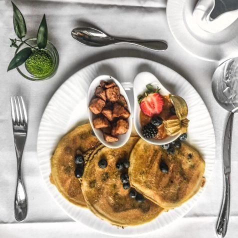 Fairmont Le Chateau Frontenac - Quebec City - Blueberry Pancakes