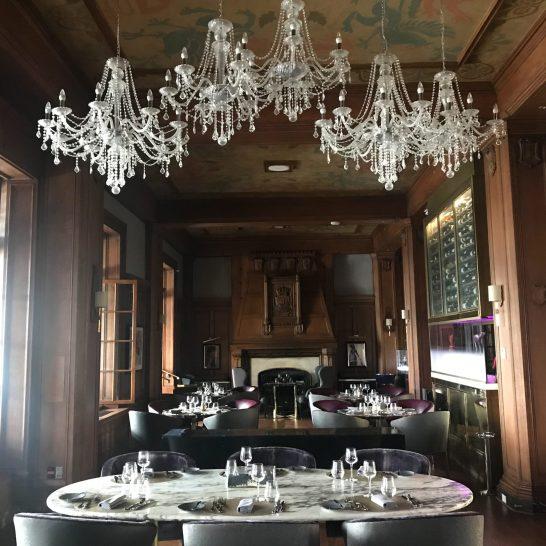 Fairmont Le Chateau Frontenac - Quebec City - Restaurant Lighting