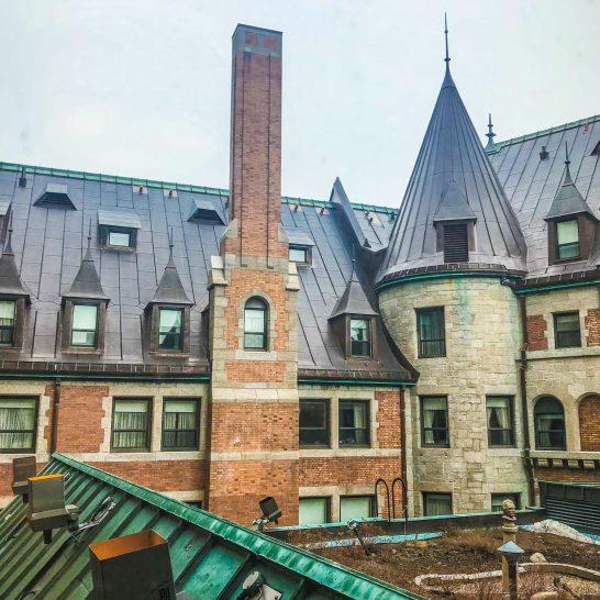 Fairmont Le Chateau Frontenac - Quebec City - Roof Garden