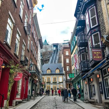 Old Quebec City - Funiculaire