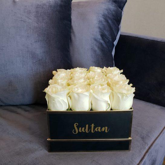 Just Sultan - Hotel X - Birthday Celebration - Berry Blush Flower Box