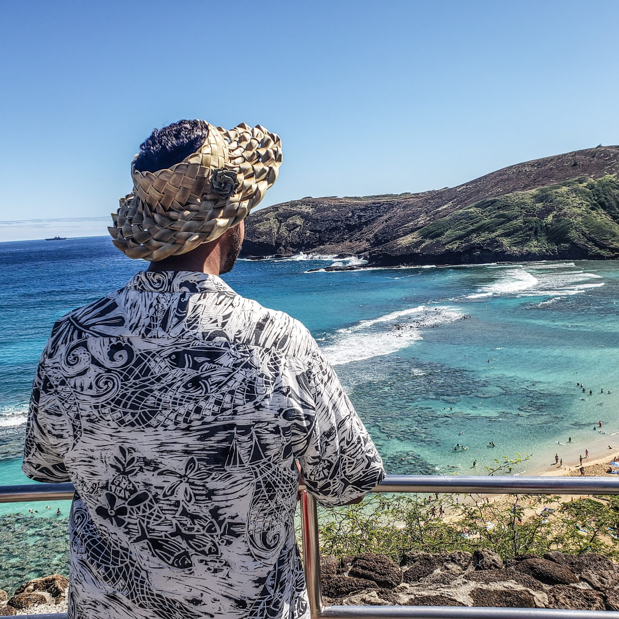 Jams World - Hawaiian Shirts - Oahu - Honolulu - Waikiki - Palani Black